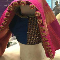 Saree Tassels Designs, Saree Kuchu Designs, Fashion Blouses, Skirt Fashion, Bridal Dupatta, Aari Work Blouse, Girls Dresses Sewing, Dress Images, Saree Dress
