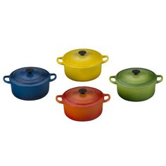 Mini French Oven Magnet Set Of 4 Le Creuset Http Www