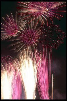 #Fireworks PINK