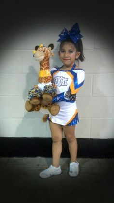 My Evelyn @ cheer competition today 12/06/14 for Cheer America! #TEXASEMPIRE