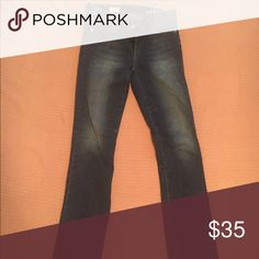 Gap dark wash jeans 1969 Gap dark wash jeans, boot cut, never worn, long Jeans Boot Cut