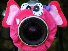 custom ELEPHANT Lens Pet for your camera by mandeefranee on Etsy