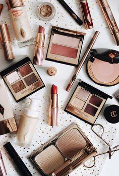 Charlotte Tilbury Makeup and Skincare Collection Charlotte Tilbury Make-up und Hautpflege-Kollektion Maquillaje Charlotte Tilbury, Charlotte Tilbury Makeup, Beauty Make-up, Beauty Hacks, Beauty Tips, Beauty Care, Daily Beauty, Beauty Photos, Makeup Brands