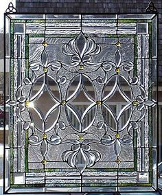 large-antique-victorian-bevelled-leaded-glass - Google Search