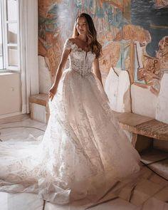 Top 30 Hottest Wedding Dresses: Guide To Every Silhouette ❤ hottest wedding dresses lace sweetheart neckline milla novamillanova #weddingforward #wedding #bride #weddingoutfit #bridaloutfit #weddinggown