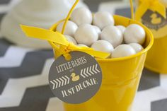 DIY Ideas for a Ducky Themed Baby Shower
