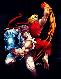 49 Best Ryu Ken Images Fighting Games Drawings Street Fighter
