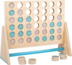 Small Foot Drevená hra Štyri v rovine XXL Classroom Games, Outdoor Classroom, Outdoor Games, Outdoor Play, Scrabble, Bingo, Sudoku, 4 In A Row, Outdoor School