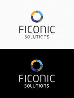 Logo design for Ficonic Solutions - Finland - by Pennanen Design Ui Design, Graphic Design, Finland, Over The Years, User Interface Design, Visual Communication