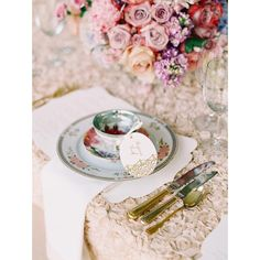 A Romantic, Fairy Tale-Inspired Wedding at a Private Residence in New... ❤ liked on Polyvore featuring backgrounds