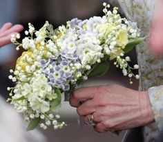 Camilla's bouquet - if it's good enough for the Duchess of Cornwall, then why not!?