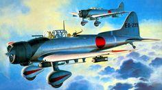 Aichi D3A1 'Val' (Fujimi box art)