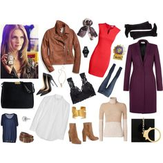 TV Girl Style: Kate Beckett from Castle, created by rtlove on Polyvore