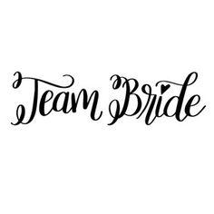 Silhouette Design Store - View Design #188560: team bride