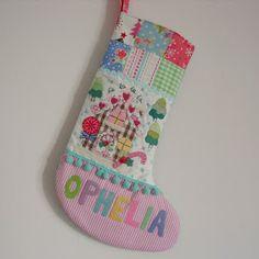 christmas stockings to make | ... christmas stocking for ophelia i love christmas and can t wait to make