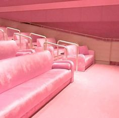 Take your vows in a pink cinema? Cos pink makes the boys wink Fuchsia, Pastel Pink, Pink Pink Pink, Bright Pink, Pink Love, Pretty In Pink, Photo Wall Collage, Pink Walls, Everything Pink