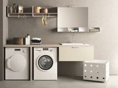 Home Decoration Online Shopping Laundry Room Cabinets, Laundry Room Organization, Laundry Room Design, Laundry In Bathroom, Hanging Cabinet, Small Space Solutions, Cabinet Design, Minimalist Home, Home Interior