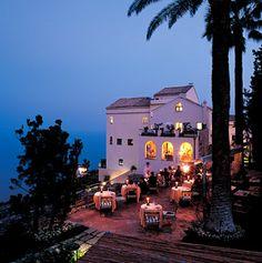 Hotel Caruso in Ravello, Italy.
