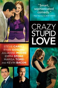 Crazy Stupid Love with Steve Carell, Ryan Gosling, Julianne Moore, Emma Stone. Best Romantic Comedies, Romantic Comedy Movies, Romance Movies, See Movie, Movie List, Movie Tv, Movie Blog, Chick Flicks, Flims