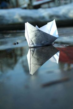 paper boat by Don Kihott