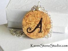 Utilized Wine Corks on the market to be used for work tasks like mauve plug wreaths, connect boards, marriage ceremony prefers plus much more. Wire Crafts, Diy And Crafts, Cork Necklace, Necklaces, Wine Cork Jewelry, Champagne Corks, Wine Cork Crafts, Cute Charms, Craft Gifts