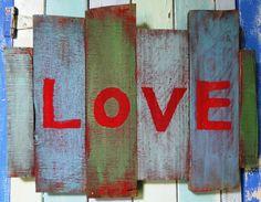Love by buttonbirddesigns on Etsy, $38.00