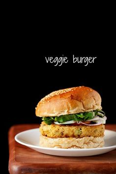 veggie burger recipe with step by step photos. veg burgers are an all time favorite at home. i make these veg burgers at home when we want to have street food like burgers or frankies.