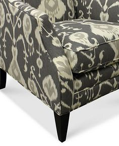 """Tinsley Fabric Accent Chair, 30""""W x 35""""D x 36""""H - Chairs - furniture - Macy's"""