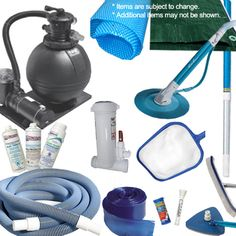 Platinum Accessory Kit for Above Ground Pool.  Find all of your pool and spa needs at www.discountpoolsupply.com