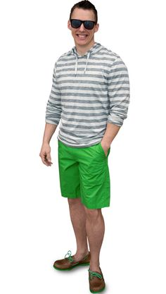 How To Wear It: Colored Shorts {Men's Edition} styled by Kaya Nielsen