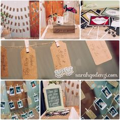 Photo polaroid line sign, photo booth Styling by Well Planned Weddings and Events