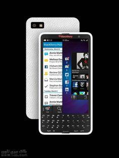 قريبا BlackBerry V10 أول جهاز يعمل بلوحه مفاتيح لمسيه حساسة