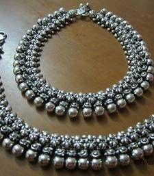 Ear Jewelry, Tribal Jewelry, Silver Jewelry, Jewelery, Gold Ring Designs, Gold Earrings Designs, Silver Anklets Online, Anklet Designs, Fancy Jewellery