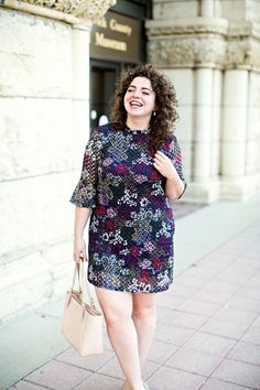 Floral shirt dress for the fall! The perfect way to transition into the cooler days | theadoredlife.com