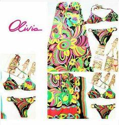 Olivia Pink #flowerparty  #Bikini #summer17 #happy #mare #hippystyle #instacool #style #saldi ........ vi aspettiamo