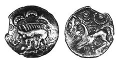 Danebury Spear silver unit, c.50-30 BC - only three other examples known