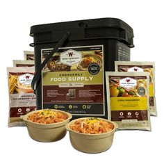 product image for Wise Foods Company 56 Serving Entrée and Breakfast Emergency Food Bucket