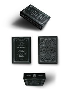 In 2012, Louisville, Kentucky graphic designer Tyler Deeb tried his hand at illustrating a Jack of Spades playing card. 52 completely redesigned cards (and one incredibly successful online fundraiser) later, Misc. Goods Co. was born. Familiar yet new, his reimagined decks of cards are portable, playable works of art.