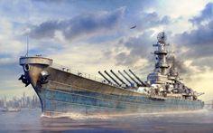 USS Missouri BFD