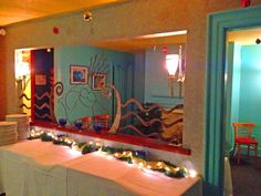 Having a cocktail hour? Host it here in our vibrant private dining room!