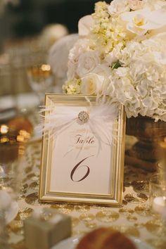 photo: Jake and Necia Photography; Stunning wedding centerpiece idea