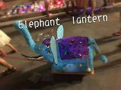 Wow ,elephant lantern