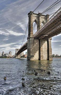 """""""Brooklyn Bridge, New York City"""" by DiGitALGoLD on Flickr ~ The Brooklyn Bridge, New York City"""