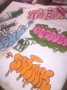 Graffiti Alphabet Styles, Graffiti Words, Graffiti Doodles, Graffiti Writing, Graffiti Tagging, Urban Graffiti, Graffiti Designs, Graffiti Styles, Graffiti Lettering
