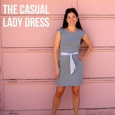 Casual lady Dress DIY, pattern to buy that supports women to stop the slave trade