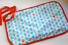 Smashed Peas and Carrots: Vinyl Tablecloth Changing Mat