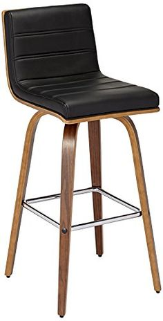 Vienna 30 Black and Walnut Swivel Barstool Review https://kitchenbarstools.life/vienna-30-black-and-walnut-swivel-barstool-review/
