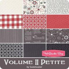 Volume II Petite Fat Quarter Bundle Curated by Fat Quarter Shop - Precuts of the Week | Fat Quarter Shop