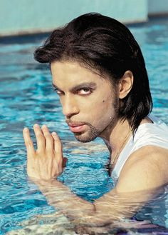 American singer and musician Prince, real name Prince Rogers Nelson poses in a swimming pool for a photoshoot with photographer Steve Parke in June Sheila E, Prince Images, Pictures Of Prince, The Artist Prince, Marbella Spain, Lets Go Crazy, Prince Purple Rain, Cinema, Paisley Park