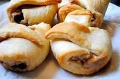 Peanut Butter Crescent Muffins